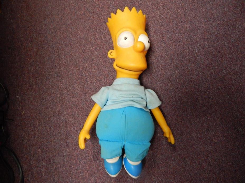 The Simpsons Bart Plastic Plush Doll