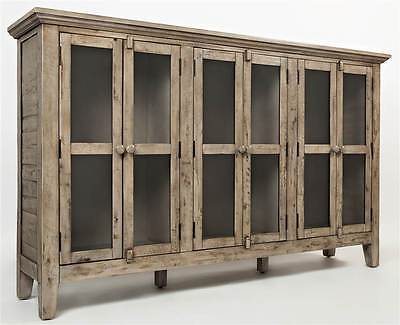 70 in. Accent Cabinet in Weathered Finish [ID 3484280]