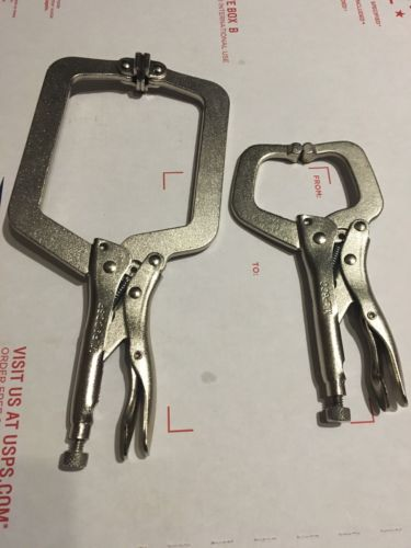NEW MAC Tools LONG REACH LOCKING C-CLAMPS W/SWIVEL PAD MLP9CCSP,C-CLAMP 6