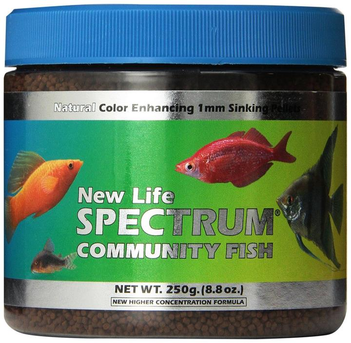 New Life Spectrum Community Fish 1mm Sinking Food, 250gm