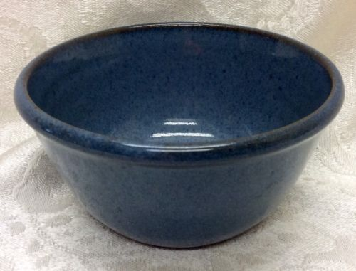 Jugtown, North Carolina Art Pottery, 1991 Marked Blue Bowl
