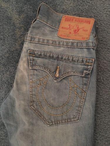 True Religion Ricky Jeans Size 28 x 34