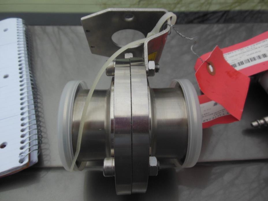 Alfa Laval stainless steel  LKB butterfly valve 2-1/2