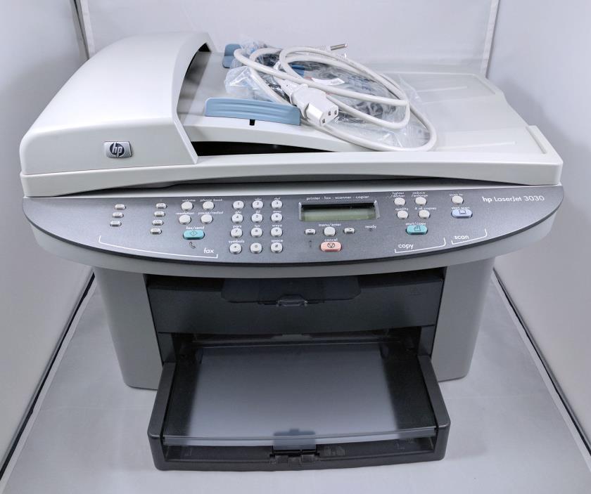Hewlett Packard HP LaserJet 3030 All-in-One - Help Drivers