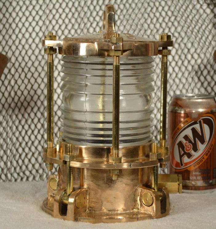 Ships Bronze Navigation Nautical Light