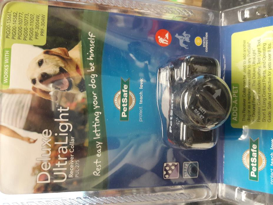 Petsafe PUL-275 In Ground Dog Fence Receiver Collar  New