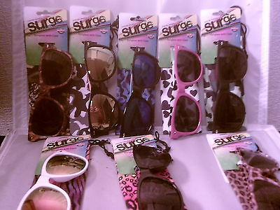 25 FOSTER GRANT [surge]SUNGLASSES WITH CASES IN  MANY COLORS