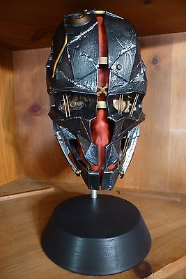 Corvo Attano Mask Replica w/ Stand Dishonored 2 Limited Edition *OOB