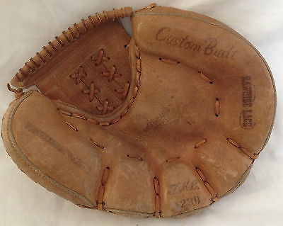 Baseball Glove Catchers Mitt Vintage TMC Quality Sporting Goods Leather RHT