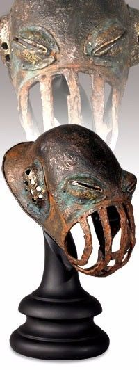Sideshow Lord of the Rings Battle Orc Muzzle Cage Helm 1/4 Scale #2152/2500