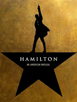 2 GREAT Seats to Hamilton San Francisco - May 5 Orchestra Row J 122/124