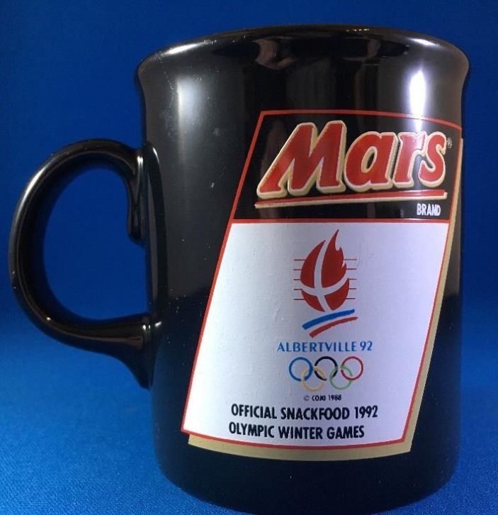 Vintage 1992 Summer/Winter Olympics MARS BRAND MUG Made In England