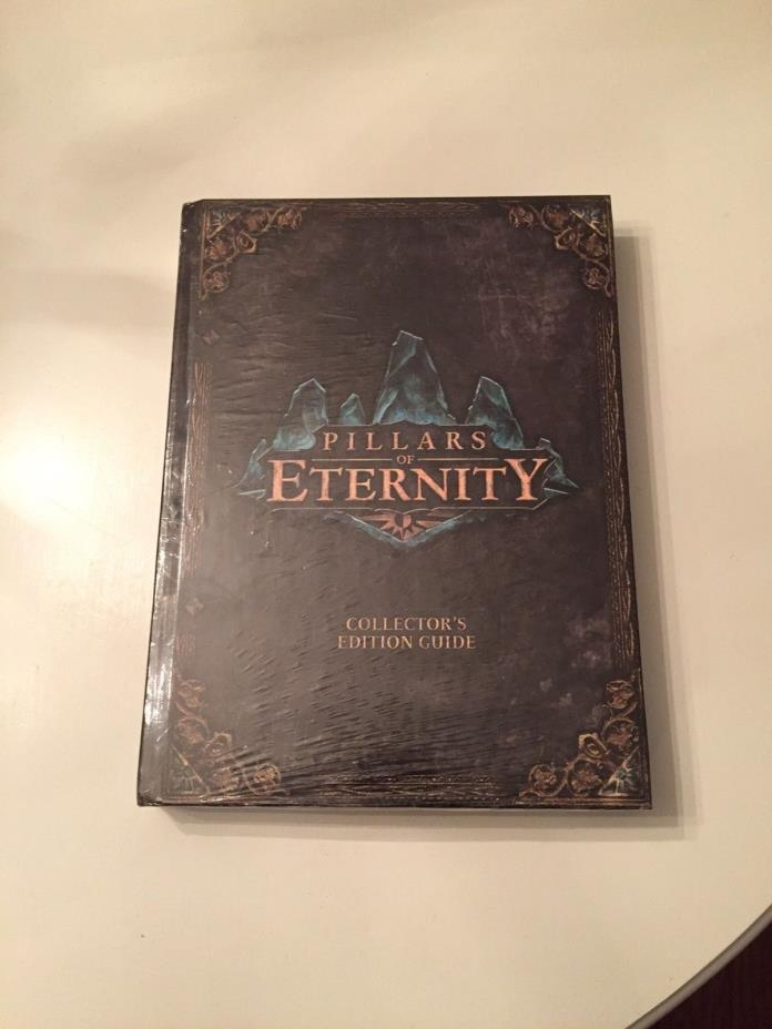 Pillars of Eternity Collector's Edition Strategy Guide SEALED NEW