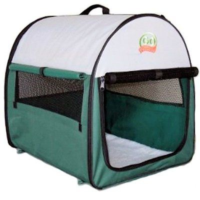 Pet Crates Kennels Club Dog Soft Crate, 38-Inch 28-Inch 34-Inch, Green