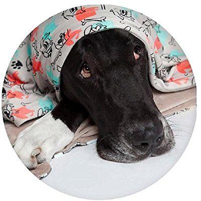 Utex Pet Blanket 56 x 68 Inches Warm, Soft, Plush, Microfiber Pet Blanket for