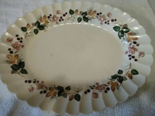 Staffordshire Olde Chelsea platter