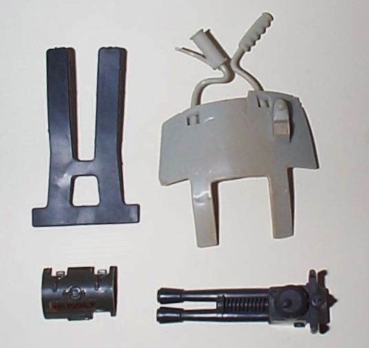Misc. parts for GI Joes 1980's