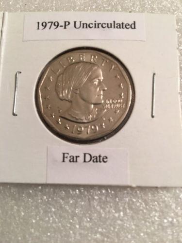 1979-p Bu Susan B Anthony Far Date Dollar