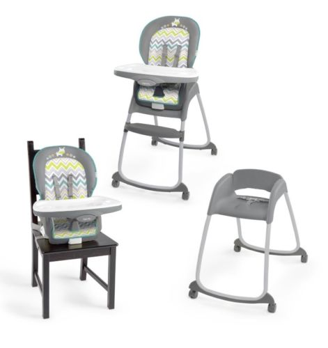 Ingenuity Trio 3 in 1 High Chair baby toddler  Silla de niño