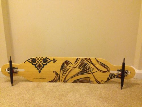 Devish longboard Loaded USED - It includes Paris trucks Black 180mm
