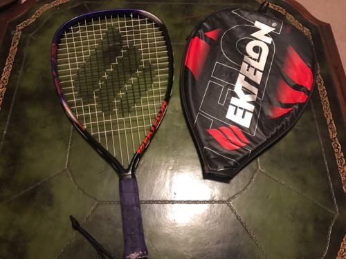 Ektelon Power Blade Purple And Black Racquetball Racquet With Cover