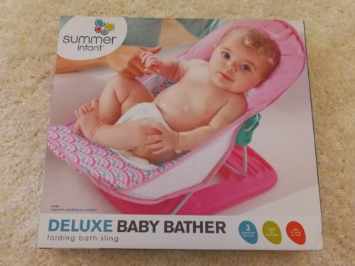 Brand New • Summer Infant Deluxe Baby Bather