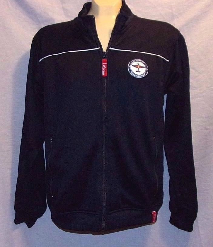 Red Bull Air Race Championship Zip Up WOMENS Sz S Warm Up Track Jacket Navy Blue