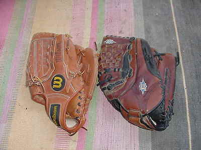 Wilson P,C. #80281 Kirk Gibson & EASTON DS125FP Right Handed Baseball Glove