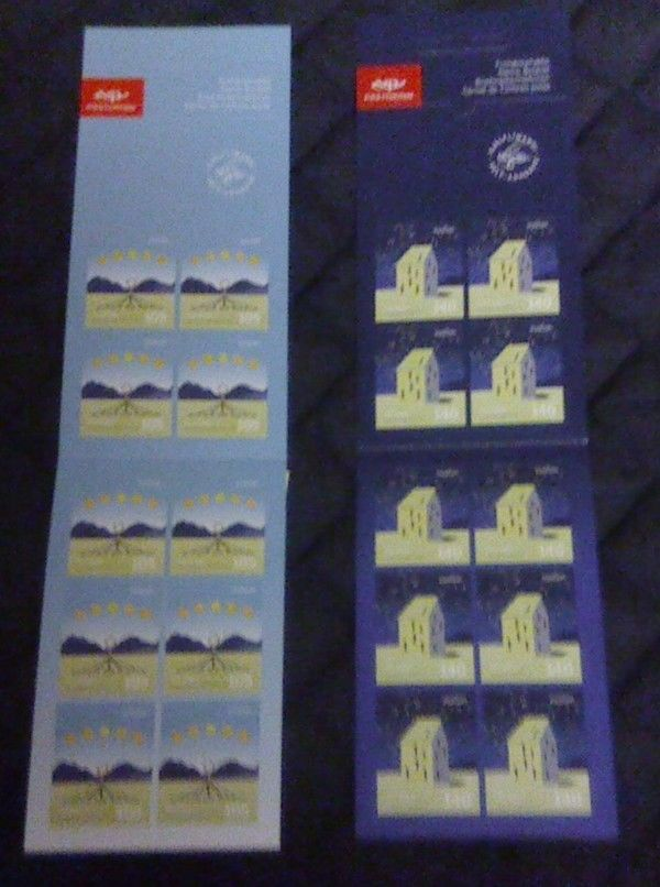 Iceland Sc 1171a-72a 2009 Europa stamp booklets mint NH Free Shipping