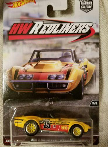 Hot Wheels Car Culture 69'CORVETTE RACER 5/5 HWREDLINERS