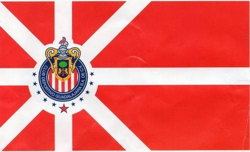 CHIVAS de GUADALAJARA 3x5 Feet FLAG BANNER, HOME COLORS, Large Size Mexico