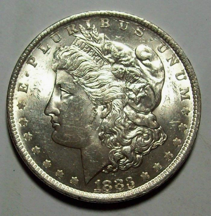 1898 O MORGAN SILVER DOLLAR--GEM UNCIRCULATED--GOOD PICS--FREE SHIPPING LOT #91