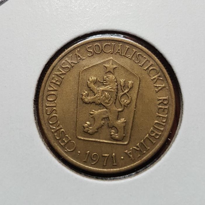 Czechoslovakia 1 krona 1971