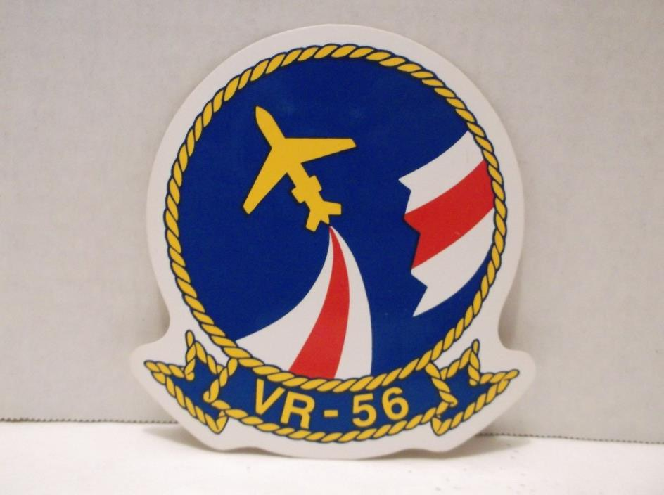 VR-56 Sticker Decal US Navy Globemasters Aviation