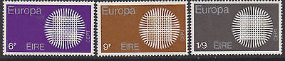 IRELAND, Scott #279-281, Complete Set, MNH, 1970 EUROPA