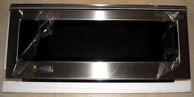 BRAND-NEW GE MONOGRAM Stainless Steel Microwave Door Assembly WB56X10872