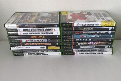 Huge Lot Of 18 XBox Video Games