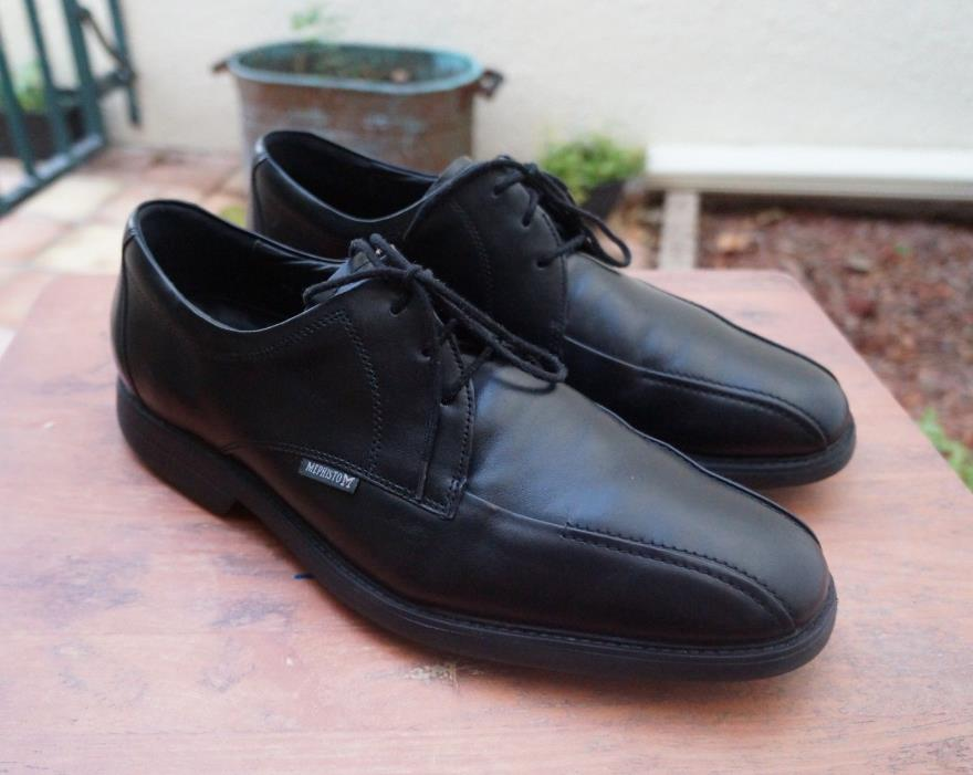 Mephisto Men's, Black Leather Dress Oxford Shoe 11.5 M