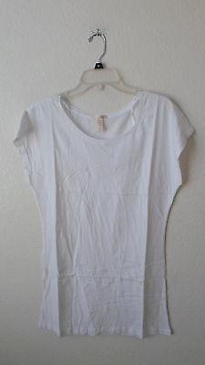 LOT OF 4 AMBIANCE APPAREL sz M Cap Sleeve Wide Crewneck Tunic Shirt WOMEN'S NWOT