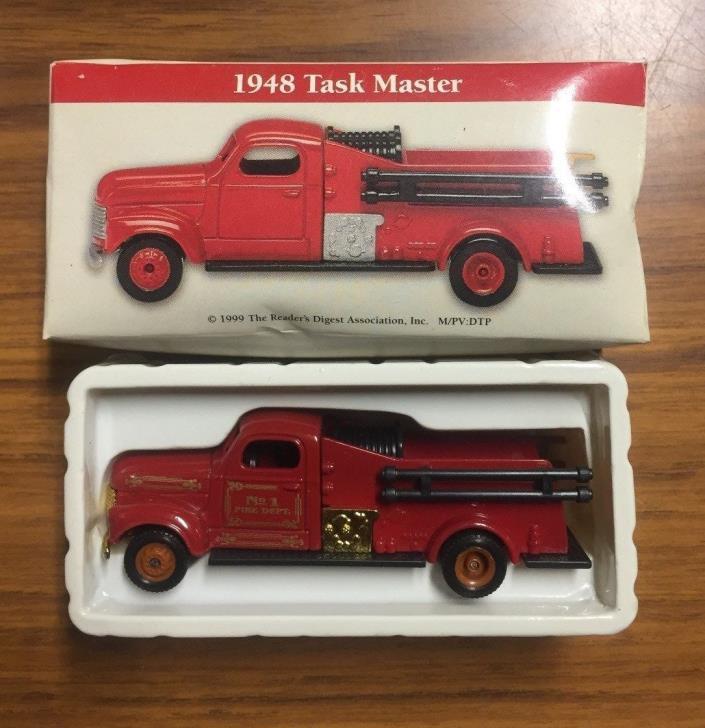 Vintage Boxed 1999 1948 Task Master Miniature 3-3/4