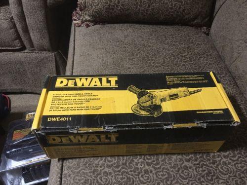 NEW DEWALT DWE4011 4 1/2