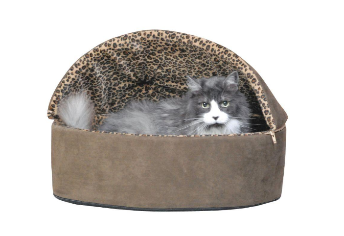 Heated Cat Bed Thermo-Kitty Pillow Base Deluxe Large Warm Cozy Indoor - New 3198