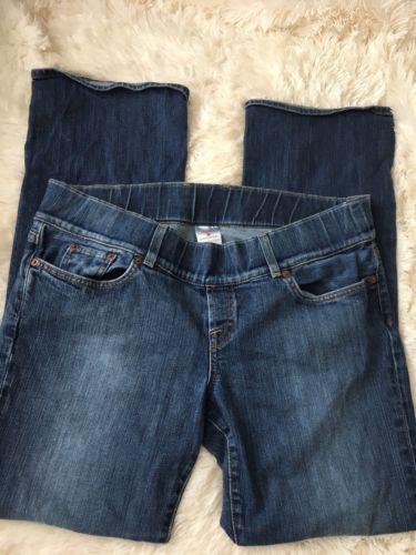 Lucky Brand Women's Size L Lil Maggie Maternity Stretch Blue Denim Jeans