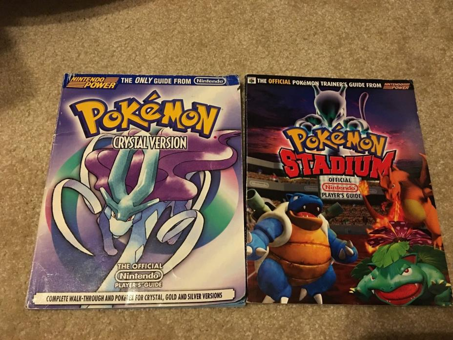 Pokemon CRYSTAL Version: Official Nintendo Power Player's Guide + Gold & Silver!
