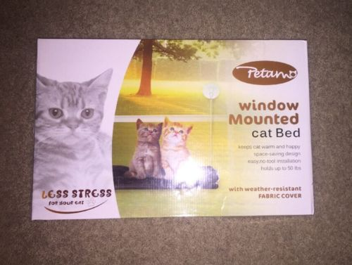 Petamo Window Mounted Cat Bed