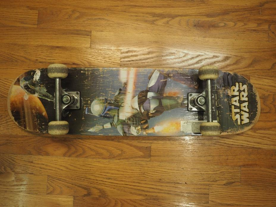STAR WARS - Boba Fett - Skateboard - 2002  31