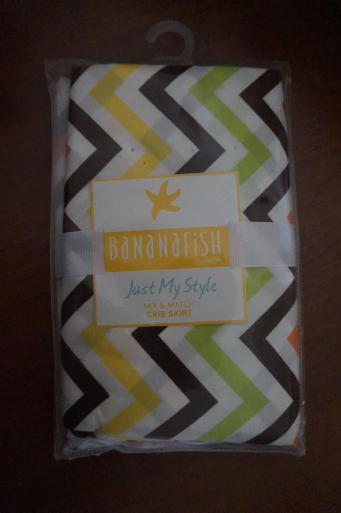 NEW Bananafish Studio Just My Style Mix & Match Crib Skirt