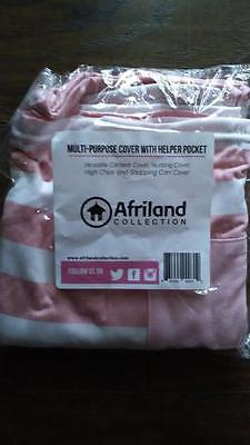 NEW (pink and white) Multi Purpose 4-in-1 Cover w/ helper pocket