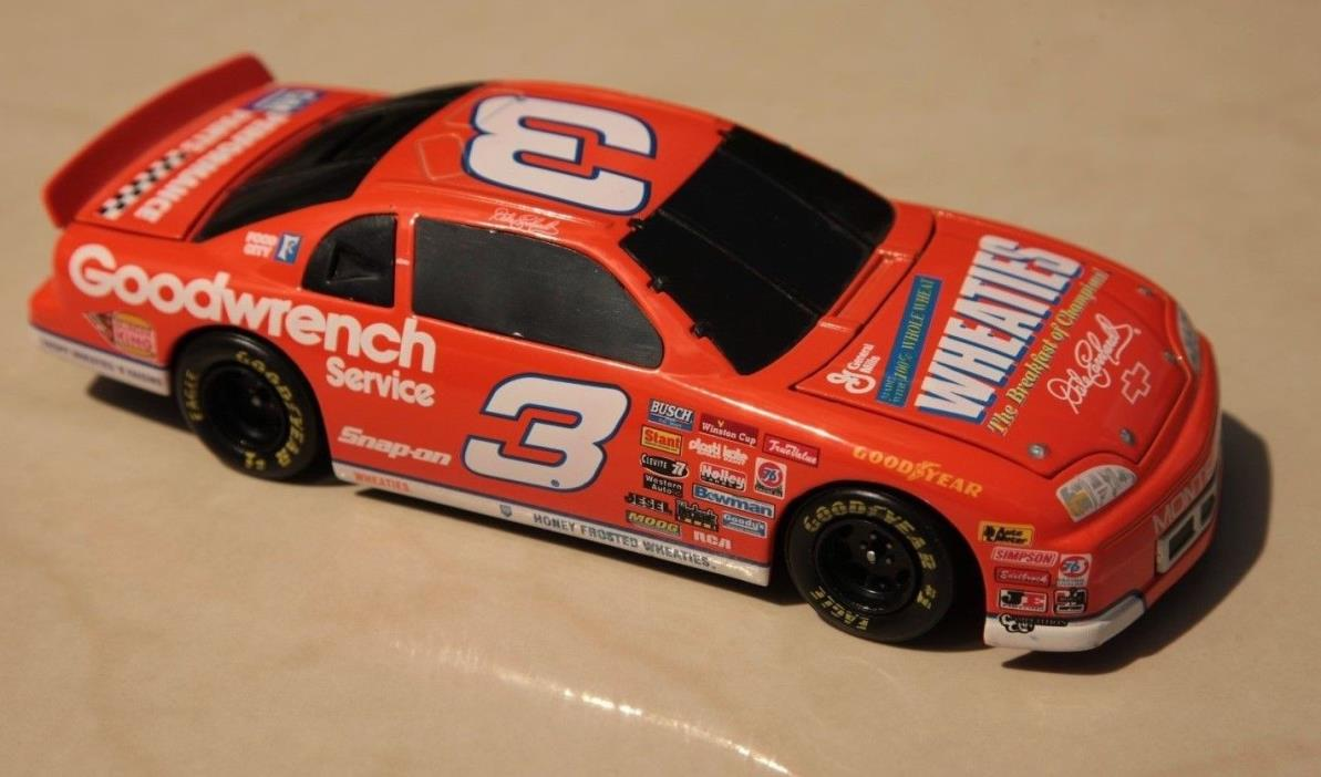 Dale Earnhardt snap on wheaties 1:24 stock car bank 1997 Monte Carlo Charlotte