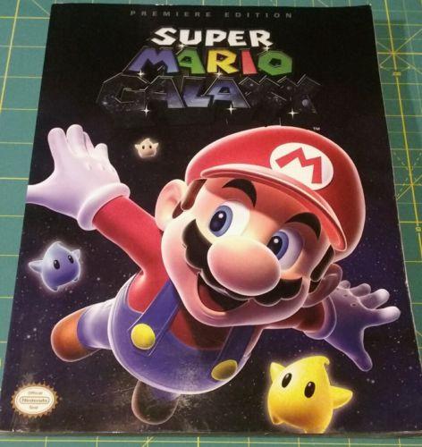 Super Mario Galaxy 1 Premiere Edition Prima Strategy Guide NEW